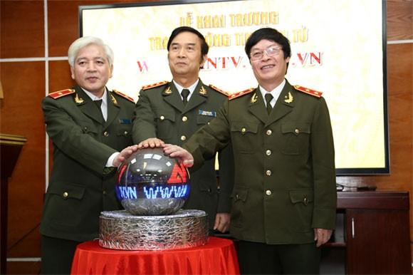 Ra mắt trang thông tin điện tử truyền hình ANTV ảnh 1