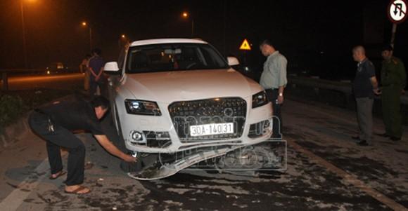 Audi Q5 gây tai nạn liên hoàn khiến 2 người nhập viện ảnh 1