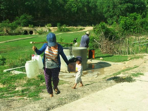 Hơn 6.500 hộ dân thiếu nước sinh hoạt cần sớm được giải hạn ảnh 1
