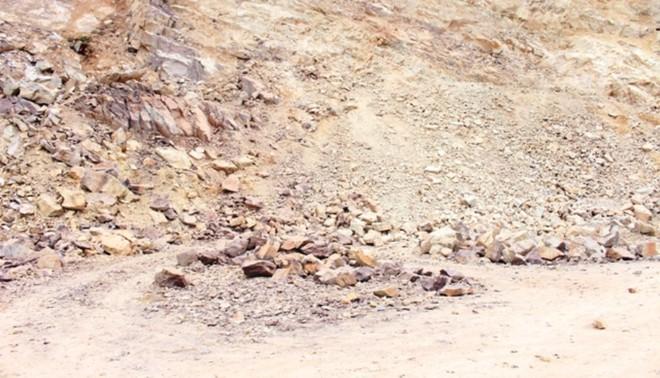 Tai nạn mỏ đá, một công nhân tử vong ảnh 1