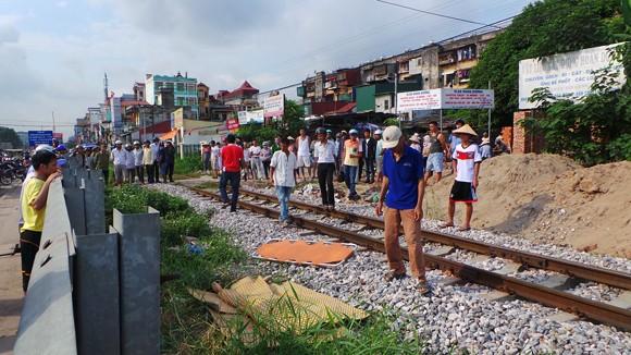 Hà Nội: Một người giúp việc bị tàu hỏa đâm tử vong ảnh 1