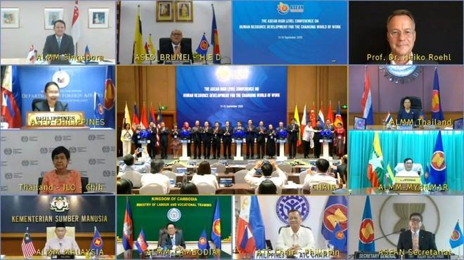 ASEAN phát triển nguồn nhân lực cho thế giới công việc đang đổi thay ảnh 1