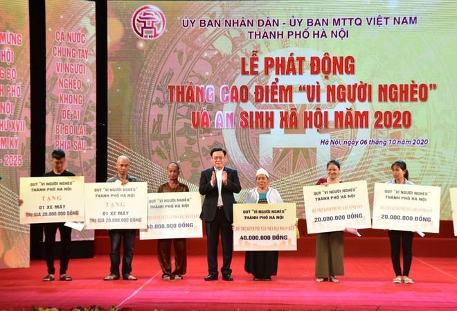 Hà Nội phát động Tháng cao điểm ''Vì người nghèo'' năm 2020 ảnh 1