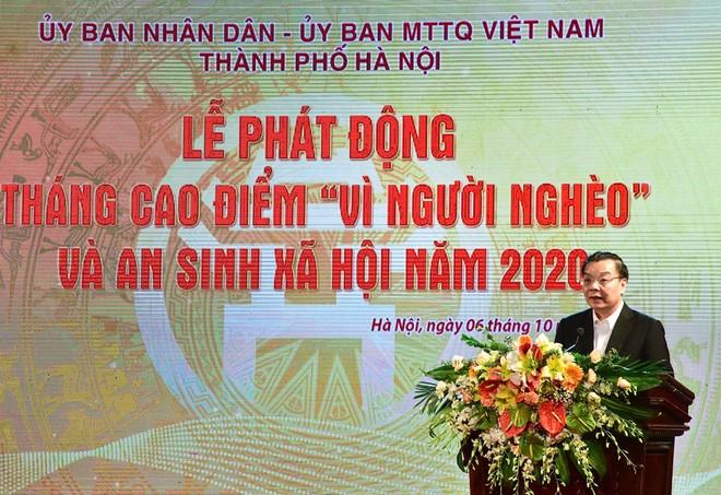 Hà Nội phát động Tháng cao điểm ''Vì người nghèo'' năm 2020 ảnh 2