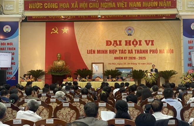 600 đại biểu dự Đại hội đại biểu toàn quốc Liên minh HTX Việt Nam lần thứ VI ảnh 1