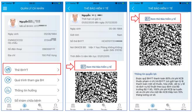 Cho phép khám chữa bệnh dùng thẻ BHYT trên ứng dụng VssID tại 10 địa phương vùng lũ, thẻ giấy vẫn có hiệu lực ảnh 1