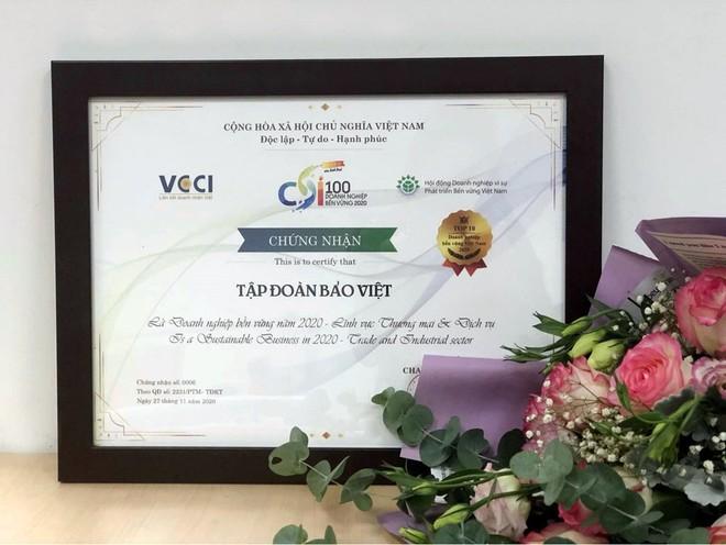 Bảo Việt được vinh danh trong Top 10 Doanh nghiệp bền vững nhất Việt Nam 5 năm liên tiếp ảnh 1