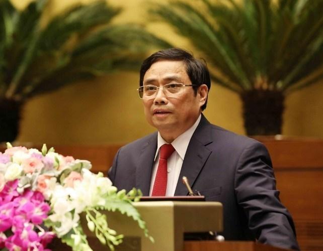 Giới thiệu ông Phạm Minh Chính ứng cử Quốc hội khối cơ quan Chính phủ ảnh 1