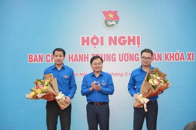 Các anh Nguyễn Tường Lâm, Ngô Văn Cương được bầu làm Bí thư Trung ương Đoàn ảnh 1