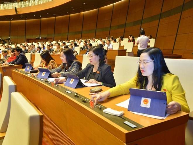 Tỷ lệ nữ đại biểu Quốc hội Việt Nam là 27,31%, cao hơn tỷ lệ chung thế giới ảnh 1