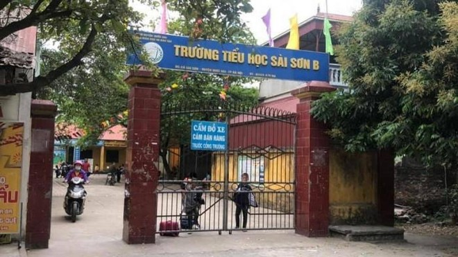 """Quốc Oai (Hà Nội): Thanh tra vụ nữ giáo viên Tiểu học Sài Sơn B tố bị nhà trường """"trù dập"""" ảnh 1"""