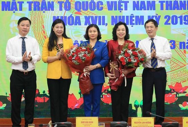 Phó Bí thư Thường trực Thành ủy Nguyễn Thị Tuyến là Ủy viên Ủy ban MTTQ Việt Nam TP Hà Nội ảnh 1