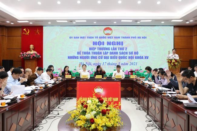 Hà Nội: Sáu người ứng cử đại biểu Quốc hội xin rút, chuẩn bị hiệp thương lần ba ảnh 1