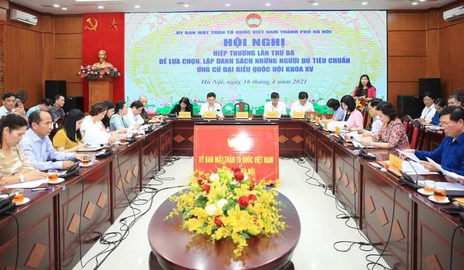 Hà Nội còn 36 người ứng cử đại biểu Quốc hội, 21 người xin rút ảnh 1