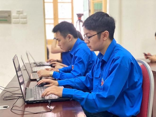 Thanh niên Thủ đô thi tìm hiểu Nghị quyết Đại hội Đảng trực tuyến ảnh 1