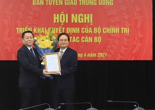 Ông Phùng Xuân Nhạ làm Phó trưởng Ban Tuyên giáo Trung ương ảnh 1