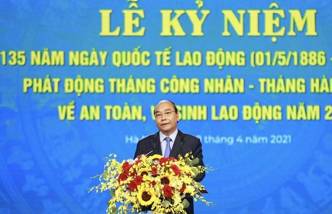 Chủ tịch nước Nguyễn Xuân Phúc: Tạo việc làm mới, cải thiện thu nhập để hình thành sức bật cho kinh tế tăng trưởng ảnh 1