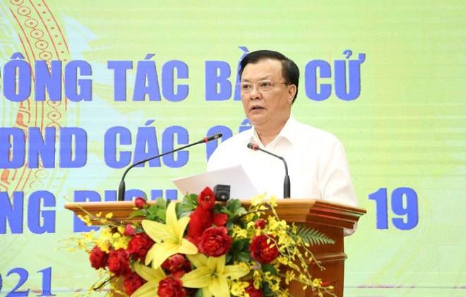Bí thư Thành uỷ Hà Nội: Sẵn sàng tổ chức thành công cuộc bầu cử trong mọi tình huống ảnh 1