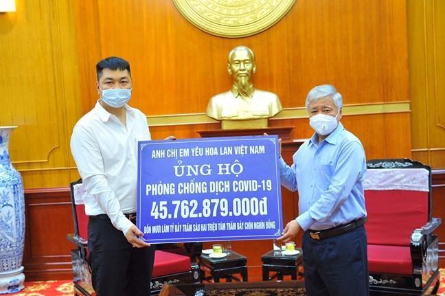 Cộng đồng yêu lan ủng hộ quỹ phòng chống dịch Covid-19 hơn 45 tỷ đồng ảnh 1