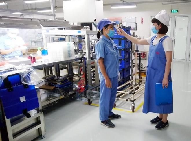 Hà Nội: Đề nghị người lao động khai báo y tế hàng ngày để phòng dịch Covid-19 ảnh 1