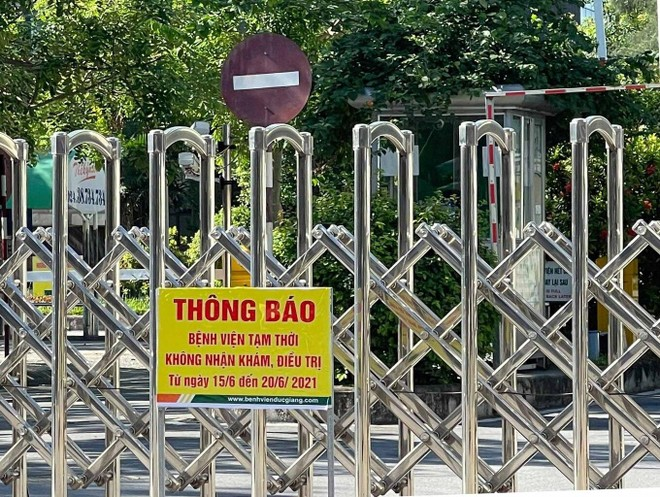 Hà Nội: Thêm một nhân viên dương tính SARS-CoV-2, Bệnh viện Đức Giang ngừng tiếp nhận bệnh nhân ảnh 1