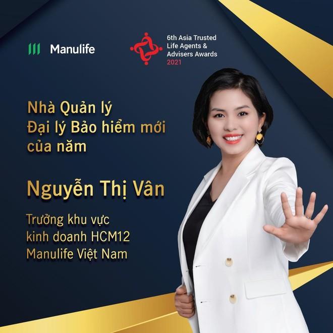 """Đại lý Manulife Việt Nam được vinh danh """"Nhà quản lý đại lý bảo hiểm mới của năm"""" ảnh 1"""