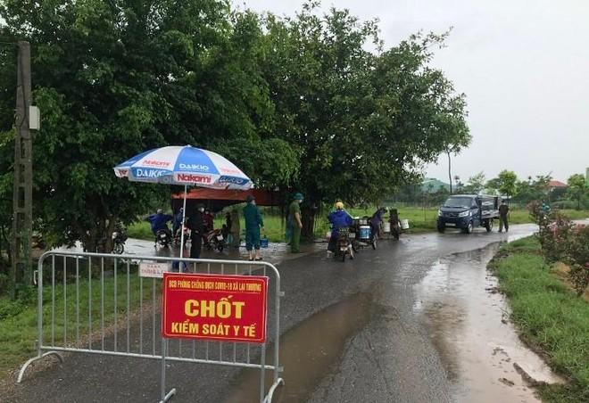 Thạch Thất, Hà Nội: Phong tỏa nhiều thôn, tổ dân phố ở Phùng Xá, Tiến Xuân, Cẩm Yên và thị trấn Liên Quan ảnh 1