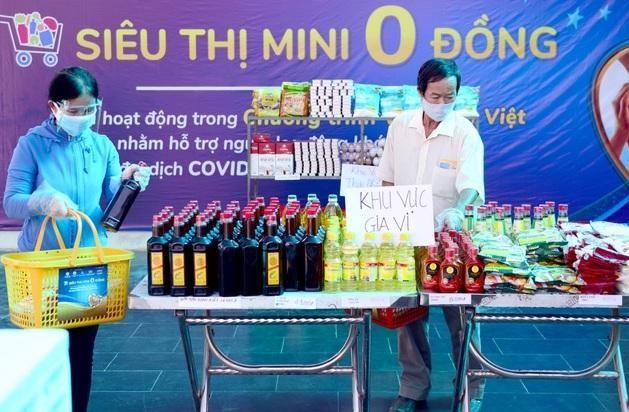 """Hà Nội: Sắp triển khai """"Xe buýt siêu thị 0 đồng"""" hỗ trợ công nhân lao động ảnh 1"""
