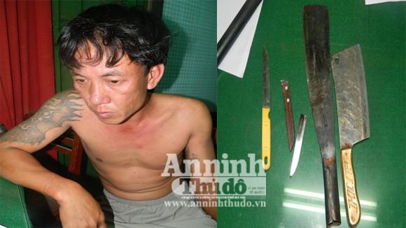 Bắt côn đồ chém người, một cảnh sát bị thương ảnh 1
