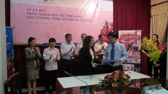 Bảo Việt Nhân Thọ tiếp tục giúp đỡ trẻ em nghèo ảnh 1
