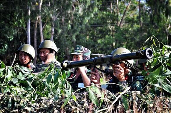 Pháo phòng không 37mm khạc đạn, diệt gọn mục tiêu ảnh 7