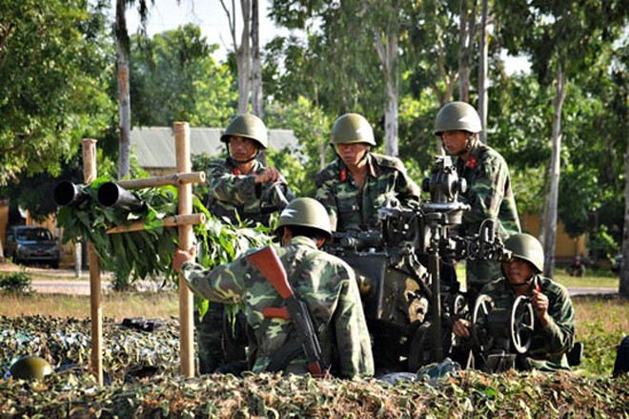 Pháo phòng không 37mm khạc đạn, diệt gọn mục tiêu ảnh 4