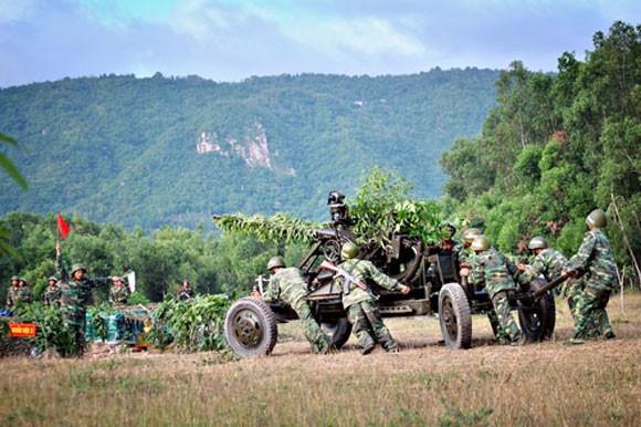 Pháo phòng không 37mm khạc đạn, diệt gọn mục tiêu ảnh 3
