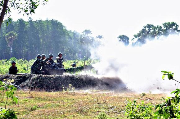 Pháo phòng không 37mm khạc đạn, diệt gọn mục tiêu ảnh 8
