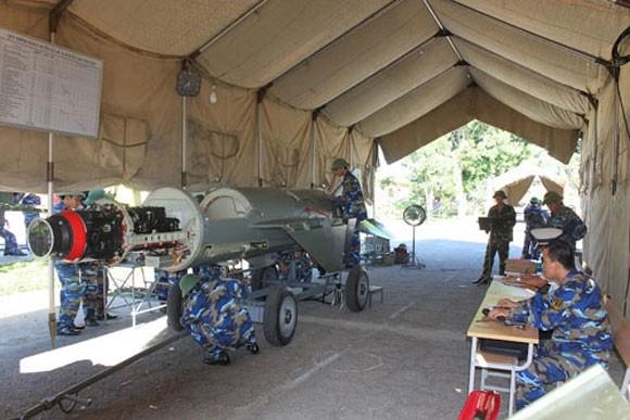 Đánh giá khả năng cơ động sẵn sàng chiến đấu ở Lữ đoàn 680, Vùng 3 Hải quân ảnh 8