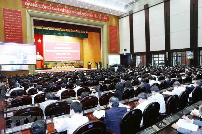 Tổng Bí thư, Chủ tịch nước chủ trì Hội nghị cán bộ toàn quốc ảnh 9