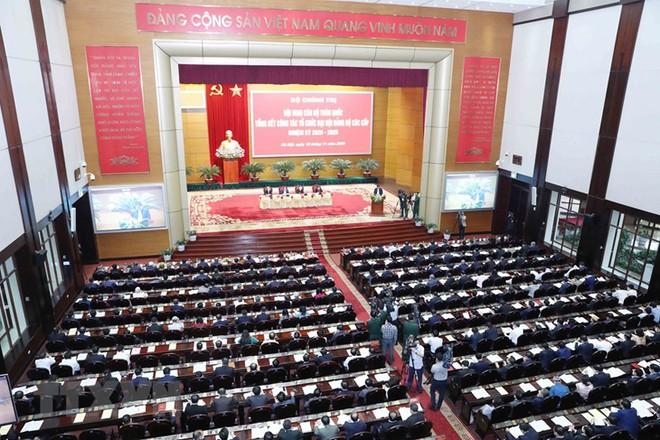 Tổng Bí thư, Chủ tịch nước chủ trì Hội nghị cán bộ toàn quốc ảnh 7