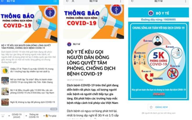 Bộ Y tế và nhiều địa phương khuyến cáo phòng, chống dịch Covid-19 trong dịp lễ ảnh 2