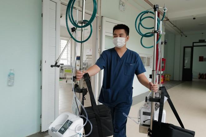 Cận cảnh Trung tâm Hồi sức tích cực điều trị Covid-19 hiện đại nhất miền Bắc tại Bắc Giang ảnh 5