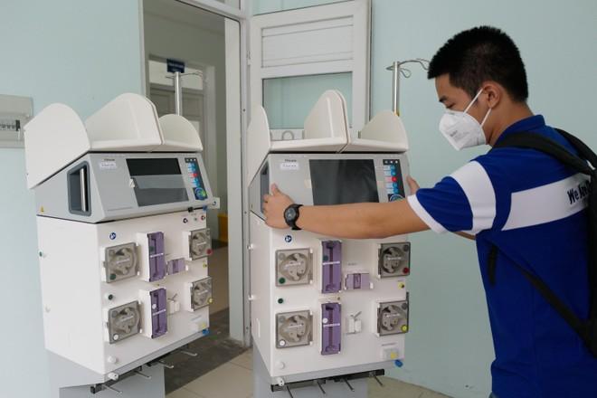 Cận cảnh Trung tâm Hồi sức tích cực điều trị Covid-19 hiện đại nhất miền Bắc tại Bắc Giang ảnh 3