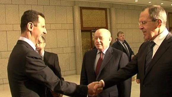 Ngoại trưởng Nga đến Syria ảnh 1
