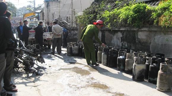 Hàng nghìn vi phạm trong kinh doanh gas ảnh 1