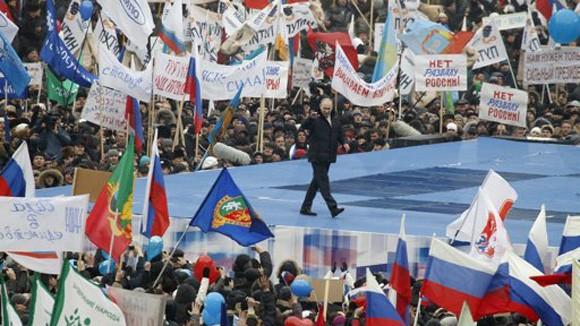 Ông Putin trở lại Điện Kremli ảnh 1