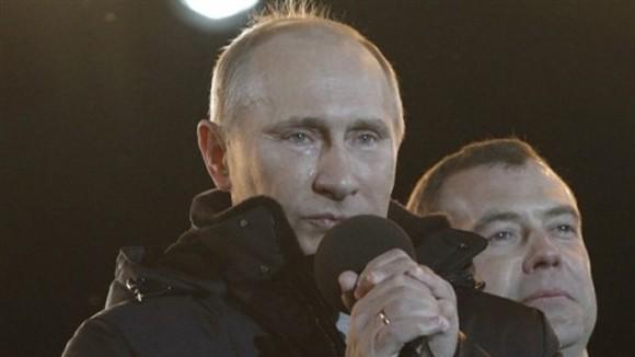 Putin và giọt nước mắt của chiến thắng ảnh 1