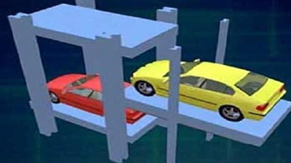 Hà Nội thí điểm lắp đặt nhiều dàn đỗ xe tự động ảnh 1