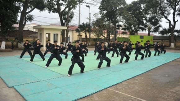 Bế giảng lớp tập huấn quân sự, võ thuật nâng cao năm 2012: 100% học viên đạt yêu cầu ảnh 1