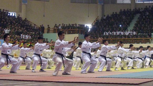 2.000 võ sinh tham gia liên hoan võ thuật Bộ Công an ảnh 1