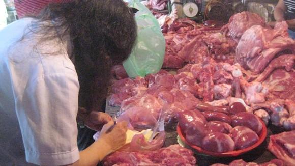 Truy tìm thịt lợn có chất tạo nạc ảnh 1