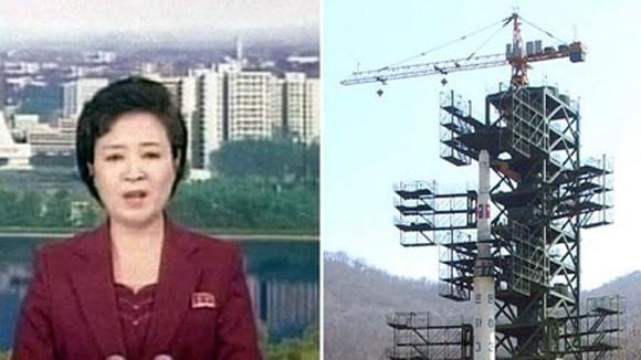 Vụ phóng vệ tinh của Triều Tiên thất bại ảnh 1