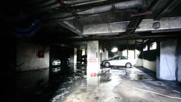 Ẩn họa cháy hầm để xe các tòa chung cư ảnh 1